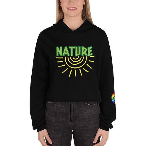 NATURE Crop Hoodie