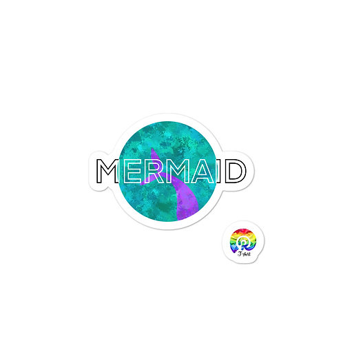 MERMAID Bubble-free stickers