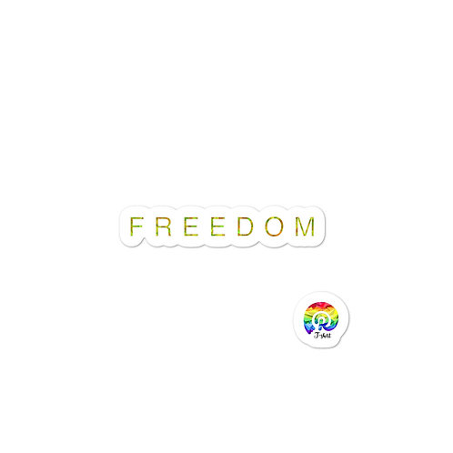 FREEDOM Bubble-free stickers