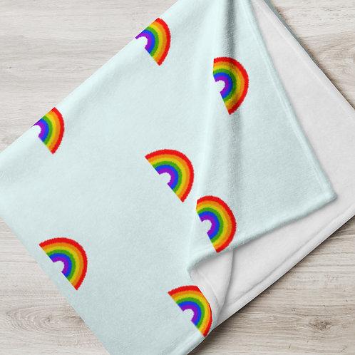 RAINBOW Throw Blanket