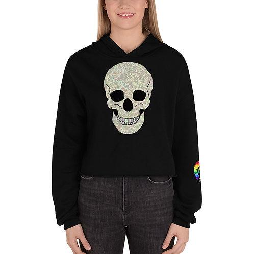 Skull Crop Hoodie