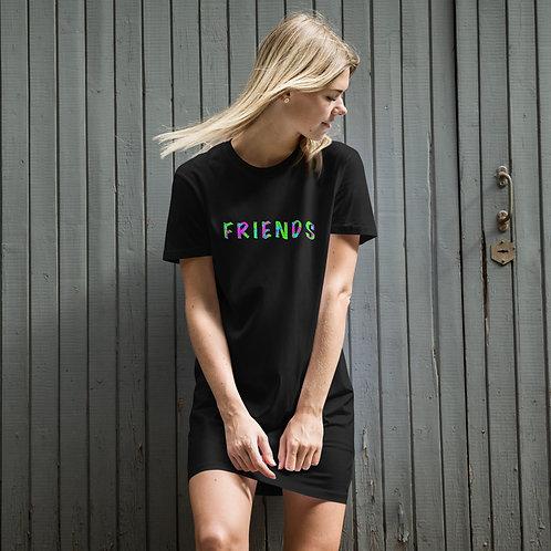 FRIENDS Organic cotton t-shirt dress