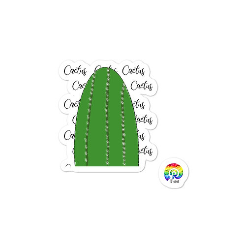 Cactus Bubble-free stickers