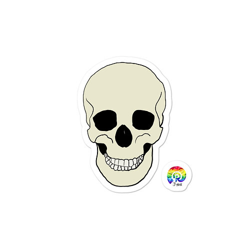Skull Bubble-free stickers