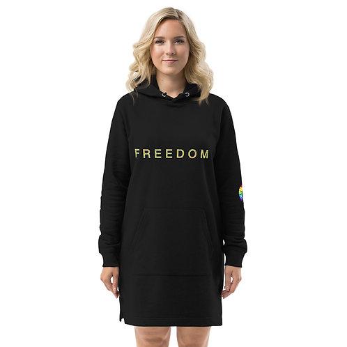 FREEDOM Hoodie dress