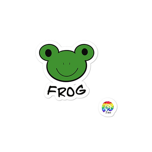 FROG Bubble-free stickers