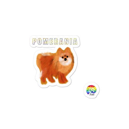 POMERANIA Bubble-free stickers
