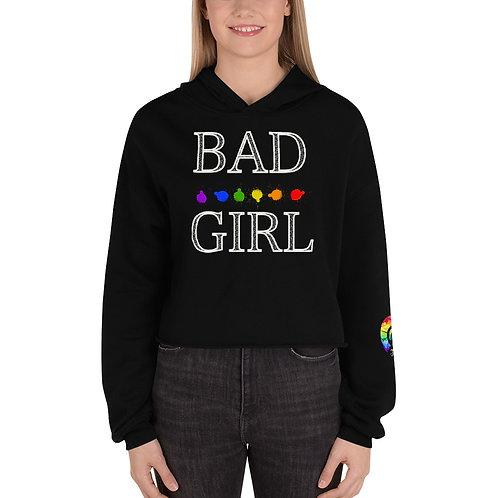 BAD GIRL Crop Hoodie