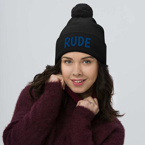 RUDE Pom-Pom Beanie
