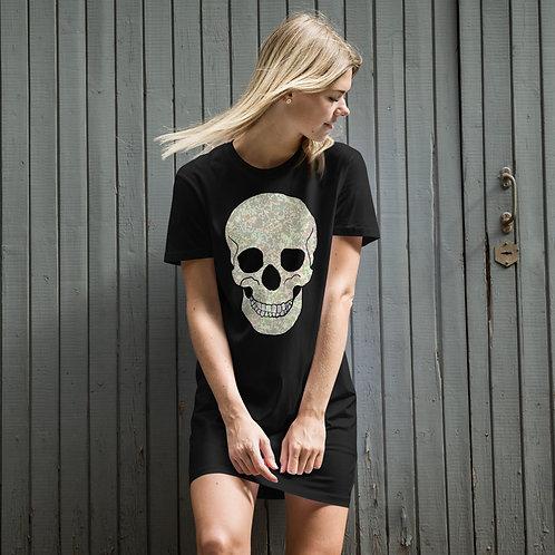 Skull Organic cotton t-shirt dress
