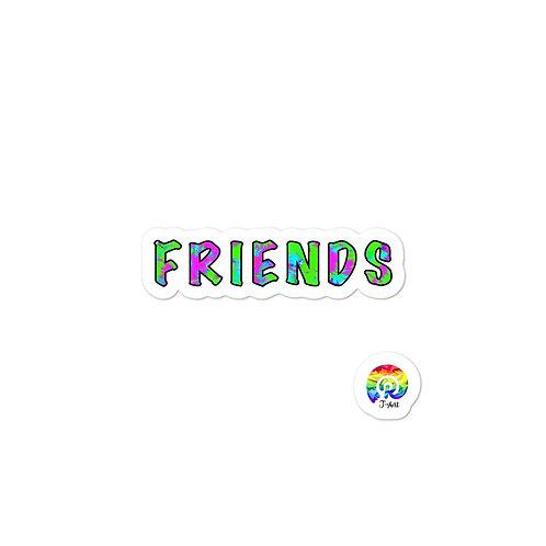 FRIENDS Bubble-free stickers