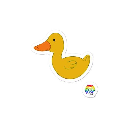 Duck Bubble-free stickers