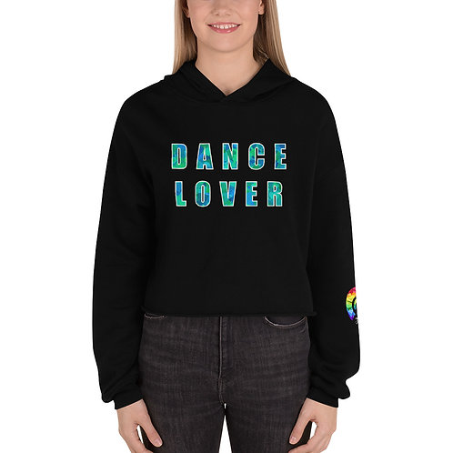 DANCE LOVER Crop Hoodie