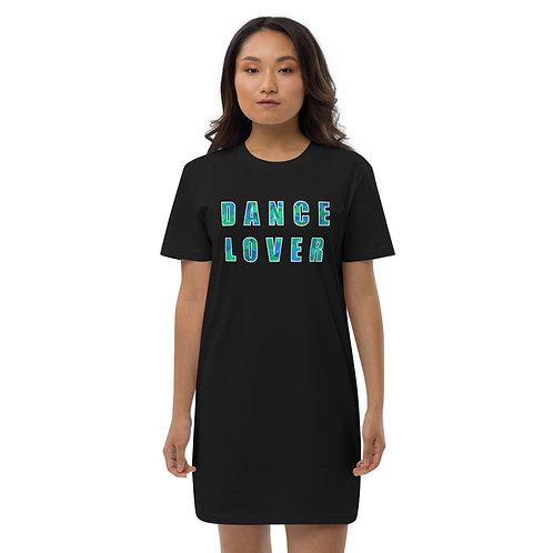 DANCE LOVER Organic cotton t-shirt dress