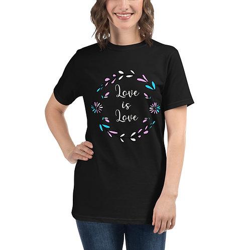Love is Love Transgender Organic T-Shirt