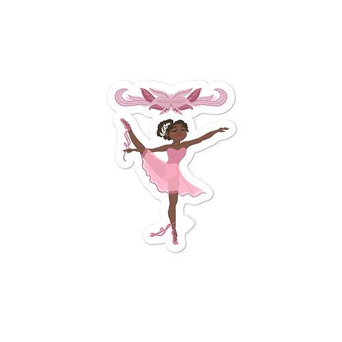 Ballet Bubble-free stickers