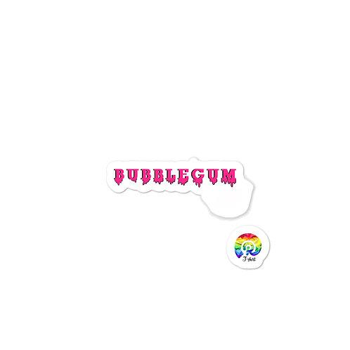 Bubblegum Bubble-free stickers