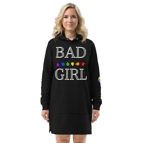 BAD GIRL Hoodie dress