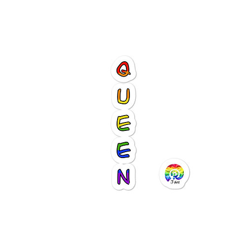 QUEEN Bubble-free stickers