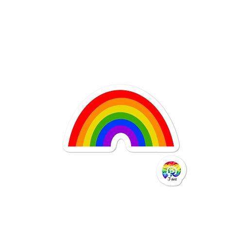 RAINBOW Bubble-free stickers