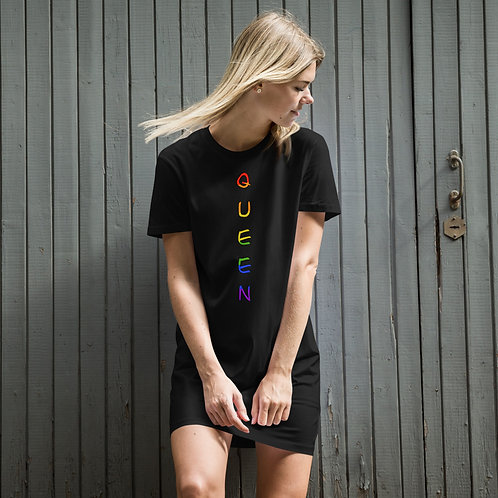 Queen Organic cotton t-shirt dress