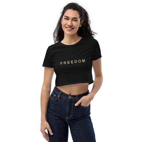 FREEDOM Organic Crop Top