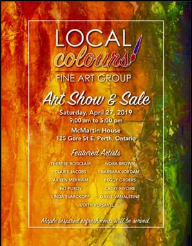 Local Colours Art Show