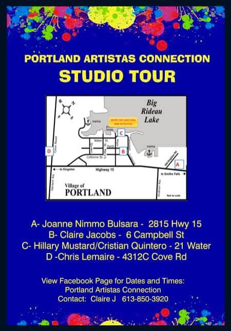 Portland Artistas Connection Studio Tour