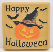 Arts and Crafts Tile Halloween