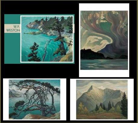 W. P. Weston Boxed Notecards British Columbia