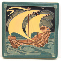Arts and Crafts Tile Galleon Tempest