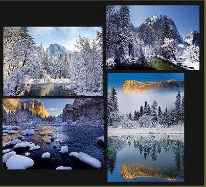 Yosemite Holiday Card Assortment