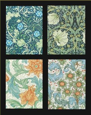 William Morris Boxed Notecards perfect for arts and crafts lover