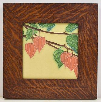 Mitered Oak Tile Frame