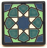 Arts and Crafts Tile Alhambra Ocean