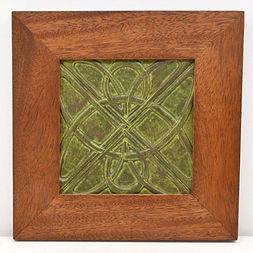 Framed Earthsong Celtic Tile
