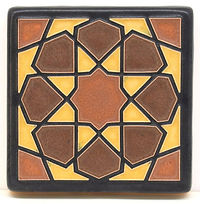 Arts and Crafts Tile Alhambra Sienna