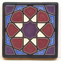 Arts and Crafts Tile Alhambra Periwinkle