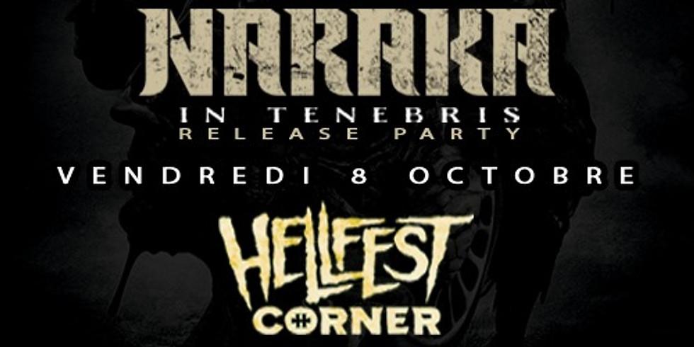 Naraka - In Tenebris - Release Party - Hellfest Corner