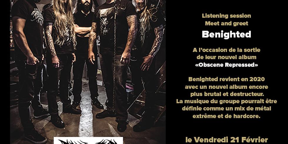 Listening Session nouvel album de Benighted