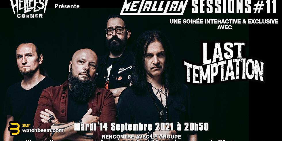 Metallian Sessions : Une soirée avec Last temptation