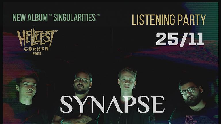 Rejoins SYNAPSE au HELLFEST CORNER pour leur release party !
