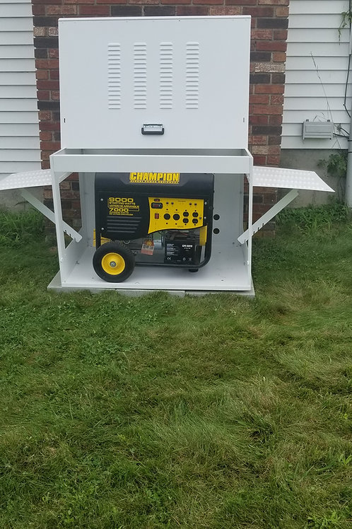 Aluminum Generator Enclosure