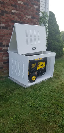 Generator house