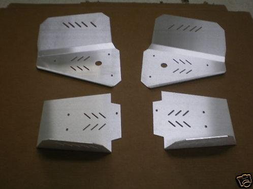 POLARIS A-ARM BOOT GUARD SET SKID PLATE