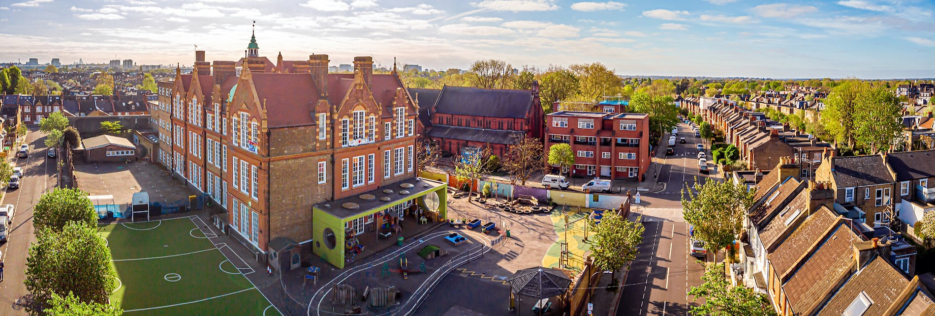 London School drone image