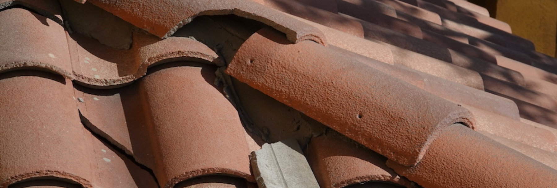 roof damage