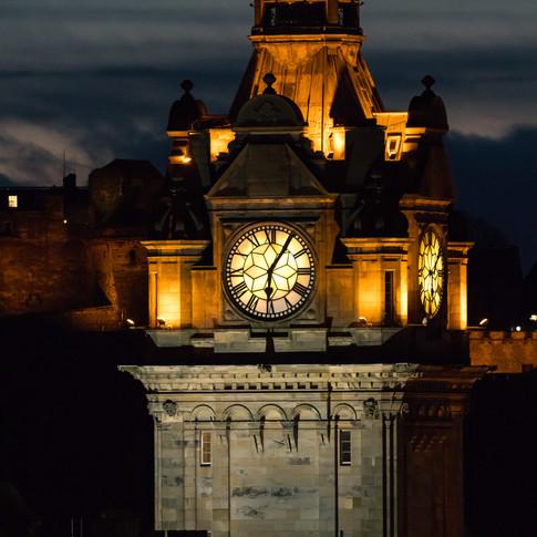 (967) The Balmoral Hotel Clock Tower at