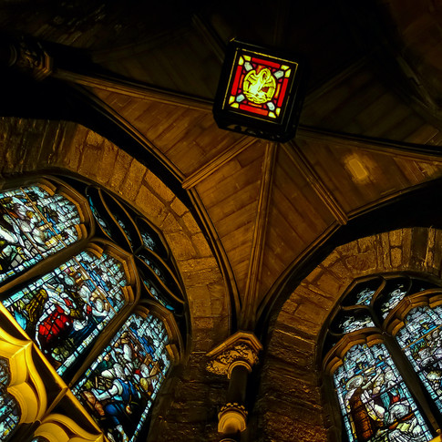 (1263) Chapel on left of North Door, Cha
