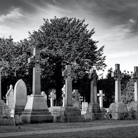 (999) Six Celtic Cross Headstones, The D
